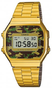Чоловічі годинники Casio A168WEGC-3EF