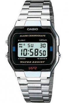 Чоловічі годинники Casio A163WA-1QES
