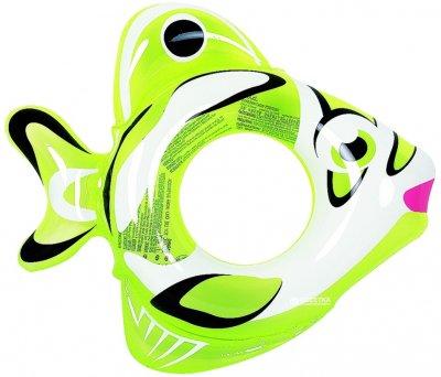 Круг надувний Jilong 47215 69 x 80 x 17.5 см Зелений (JL47215_green)
