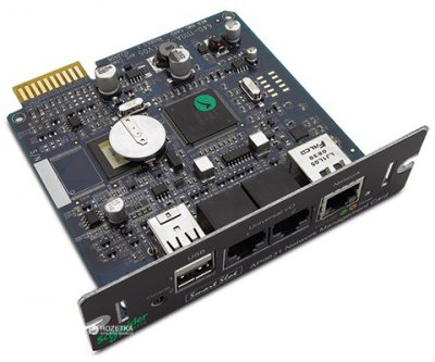 Плата мережного керування ДБЖ APC UPS Network Management Card 2 with Environmental Monitoring (AP9631)