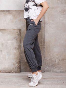 Спортивные штаны ISSA PLUS 12433 Темно-серые
