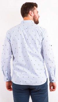 Рубашка Remix LA05 Голубая