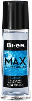 Парфюмированный дезодорант в стекле для мужчин Bi-es Макс 100 мл (5905009044282)