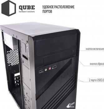 Корпус QUBE QB05M 400W Black (QB05M_MN4U3)
