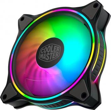 Вентилятор Cooler Master MasterFan MF120 Halo ARGB Sync (MFL-B2DN-18NPA-R1), 120х120х25 мм, 4pin, чорний