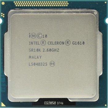Б/У, Процесор, Intel Celeron g1610, 2 ядра, 2.6 GHz