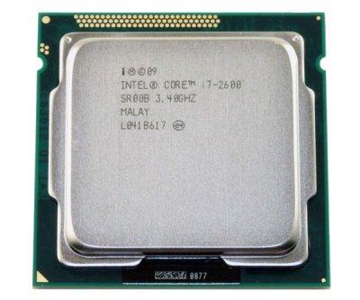 Б/У, Процесор, Intel Core i7-2600, 8 ядер, 3.8 GHz, 1155