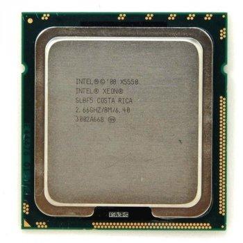 Б/У, Процесор, Intel xeon x5550, 8 ядер, 3.06 GHz