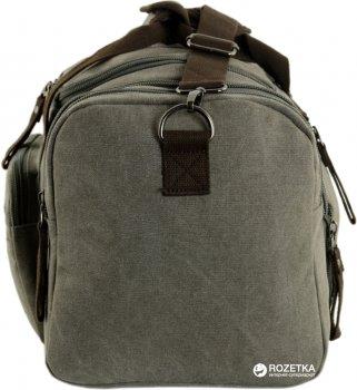 Дорожная сумка Traum 53 (60) х 30 х 25 см Серая (7055-05)