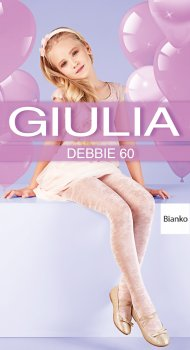 Колготки Giulia Debbie (1) 60 Den 104-110 см Bianco (4823102964591)