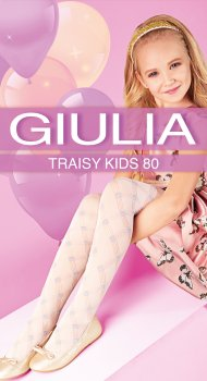 Колготки Giulia Traisy Kids (3) 80 Den 128-134 см Panna (4823102967394)