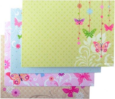 Набір заготовок для листівок ZiBi Flutter 10.5 x 14.8 см (ZB.18228-AD) (4823078907158)