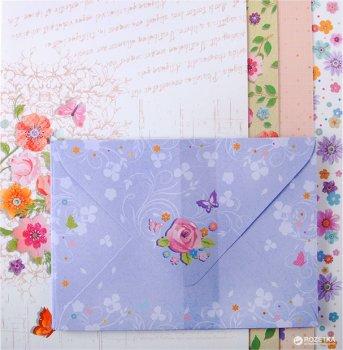 Набір заготовок для листівок з кольоровими конвертами ZiBi Kids Line Charm 10.5 x 14.8 см (ZB.18223-AD) (4823078907196)