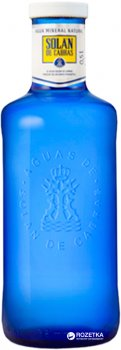Упаковка води мінеральної негазованої Solan de Cabras 0.5 л х 12 пляшок (8411547211637)