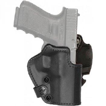 Кобура Front Line поясная компактная, кожа, для револьверов 2'' ц:черный