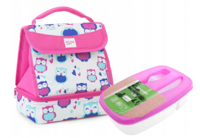 Термосумка для ланчу Spokey Lunch Box Pink ланчбокс ланч бег сумка для обідів (spl_921885)