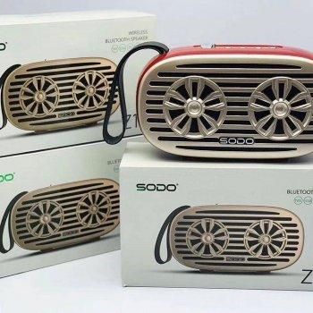 Бездротова Bluetooth колонка SODO Z19 Black JKR | Оригінал | Гарантія Червоний