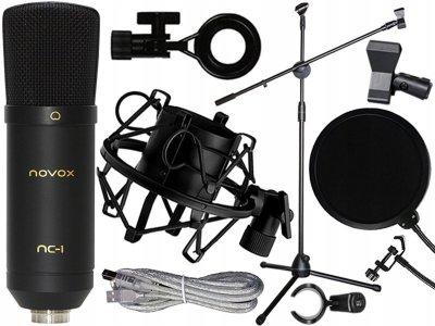 Набор звукового оборудования NOVOX NC-1 Серый (73760428990)