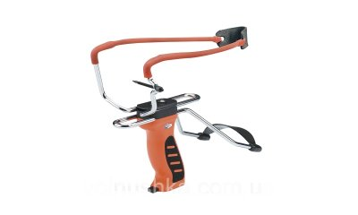 Рогатка Man Kung MK-SL06O с упором ц:оранжевый (MK-SL06O)