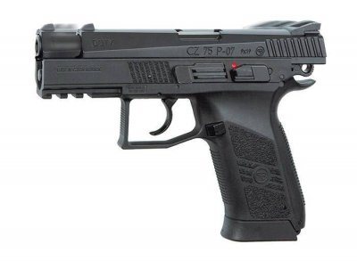 Пневматичний пістолет ASG (CZ 75 P-07 Duty) Blowback. Корпус - метал (16728)