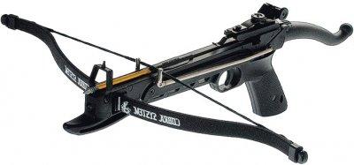 Арбалет Man Kung MK-80A4PL, Рекурсивний, пістолетного типу, пластик. рукоять ц:чорний (MK-80A4PL)