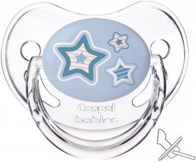 Пустушка Canpol Babies силіконова анатомічна 18+ місяців Newborn baby (22/567_blu)