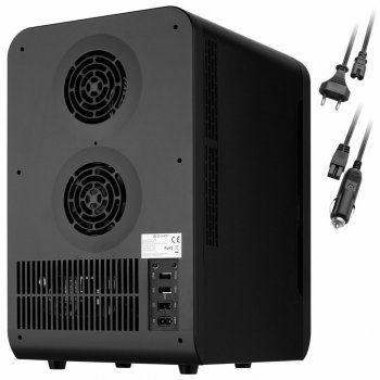 Автохолодильник термобокс 20Л 12V 220V KESSER з Німеччини Чорний