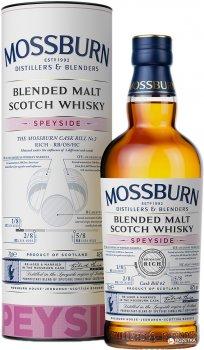 Віскі Mossburn Speyside Blended Malt Scotch Whisky 0.7 л 46% (5060033847107)