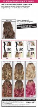 Смываемый Красящий бальзам для волос L'Oreal Paris Colorista Washout Волосы фуксия 80 мл (3600523566327)