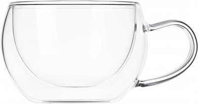 Набор чашек с ручками Ardesto с двойными стенками для латте 270 мл х 2 шт (AR2627GH)