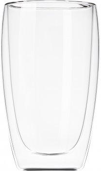 Набор чашек Ardesto с двойными стенками для латте 450 мл х 2 шт (AR2645G)