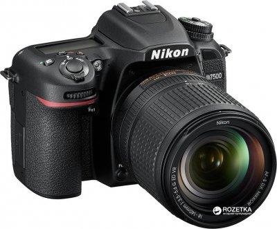 Фотоапарат Nikon D7500 AF-S DX Nikkor 18-140mm f/3.5-5.6G ED VR Kit (VBA510K002)