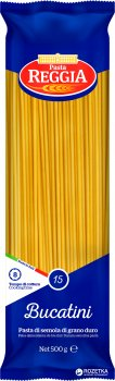 Макароны Pasta Reggia 15 Bucatini Букатини 500 г (8008857200156)