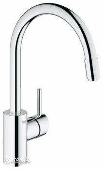 Кухонная мойка GROHE Sink K400 860x500 31570SD0 (31566SD0 сатин со смесителем Concetto 32663001)
