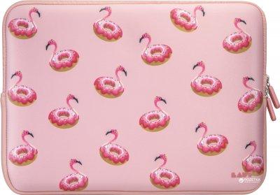 """Чохол для ноутбука Laut POP SLEEVE для MacBook Air/Pro Retina/Pro 2016 13"""" Рожевий Фламінго (LAUT_MB13_PI_F)"""