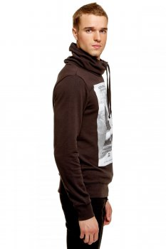 Толстовка Tom Tailor темно-коричневий 252841100122999