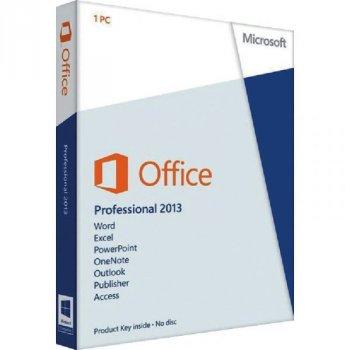 Офісне додаток Microsoft Office Professional 2013 (32/64-bit Russian) BOX DVD (269-16288)