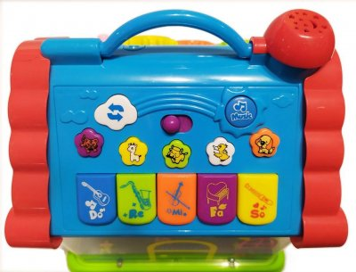 "Музична іграшка ""Стар Тойс"" Е-Нотка Будиночок 876"