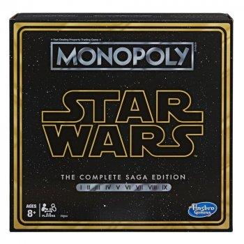 Гра Монополія Зоряні Війни 9 епізодів Monopoly Star Wars Hasbro E8066