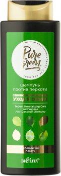 Шампунь против перхоти Bielita Pure Green Себонормализующий уход и объем 400 мл (4810151026714)