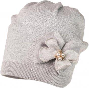 Демисезонная шапка Jamiks ASMARA-2 52 см Серебристая (5903024115178)