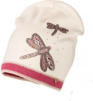 Демисезонная шапка Jamiks SOFIA-1 50 см Розовая (5903024115789)