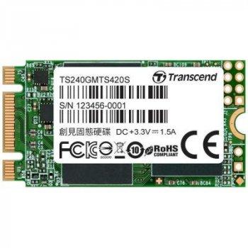 Накопичувач SSD M. 2 2242 240GB Transcend (TS240GMTS420S) (WY36TS240GMTS420S)