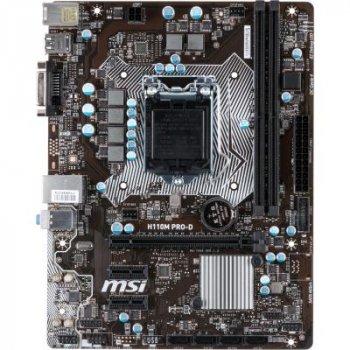 Материнська плата MSI H110M PRO-D (WY36dnd-147814)