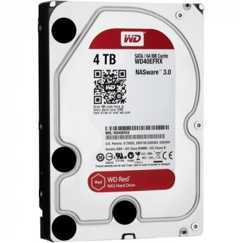 Жесткий диск WD 3.5 Red 4 TB (WD40EFRX) (WY36dnd-113548)