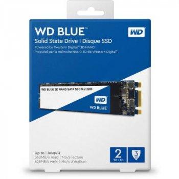 Накопичувач SSD M. 2 2280 Western Digital 2TB (WDS200T2B0B) (WY36WDS200T2B0B)