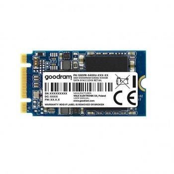 Накопитель SSD M.2 2242 240GB GOODRAM (SSDPR-S400U-240-42) (WY36SSDPR-S400U-240-42)