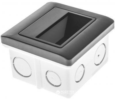 Светодиодный светильник для ступеней Brille LZ-01/1.5W WW BK (33-026)