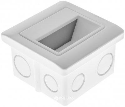 Светодиодный светильник для ступеней Brille LZ-01/1.5W WW WH (33-025)
