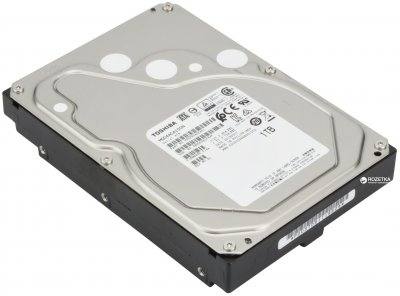 Жесткий диск Toshiba 1TB 7200rpm 128MB MG04ACA100N 3.5 SATA III